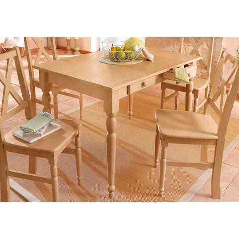 Eettafels HOME AFFAIRE Eettafel van massief grenenhout 603678