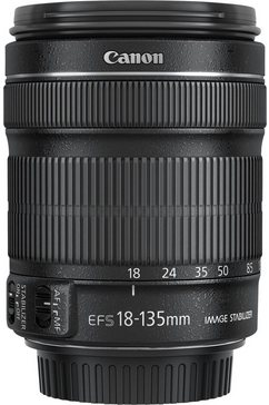 EF-S 18-135mm 1:3,5-5,6 IS STM Objectief
