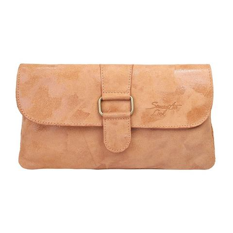 Samantha Look leren dames clutch
