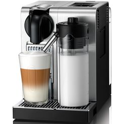 de'longhi nespresso koffiecapsulemachine en 750.mb, zilverkleur zilver