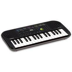 casio keyboard mini-keyboard sa-47 met praktische schakelknop grijs