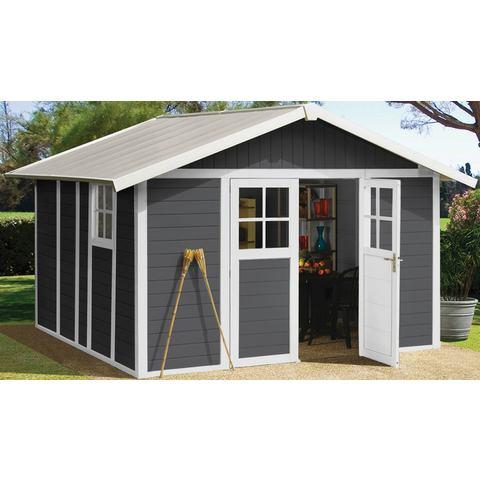 Grosfillex Garden Home DECO H11 antraciet-wit