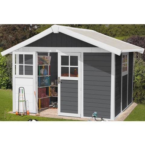 Grosfillex Garden Home DECO H7,5 antraciet-wit
