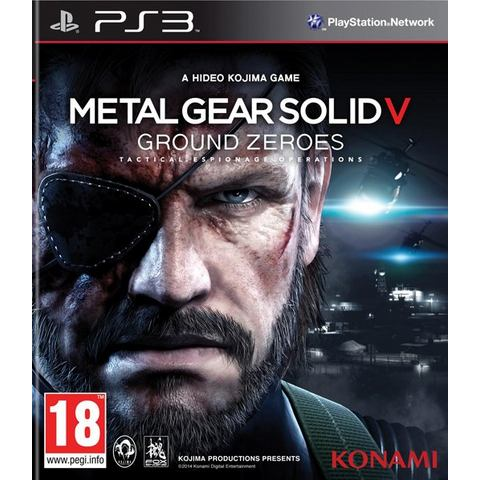 PS3 Game Metal Gear Solid V, Ground Zeroes