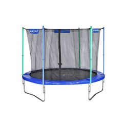 hudora trampoline incl. net ø 300 cm multicolor