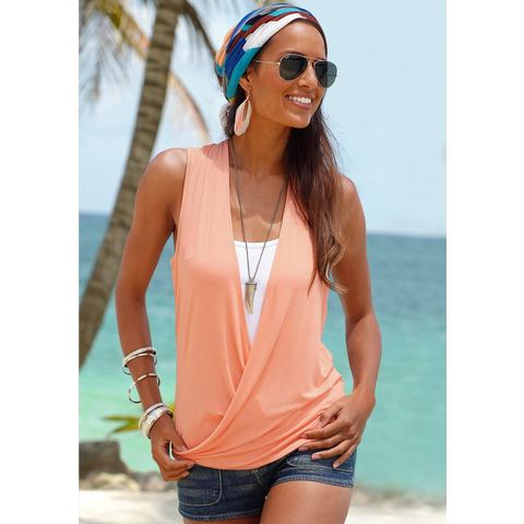 LASCANA Top in dubbellaagse look