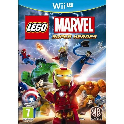 Game Wii U LEGO Marvel Super Heroes