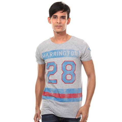 CATCH T-shirt met ronde hals, slim fit