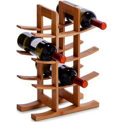 zeller present wijnrek bruin