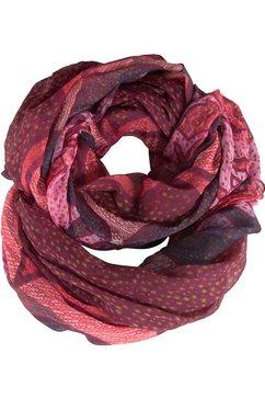 ronde sjaal rood