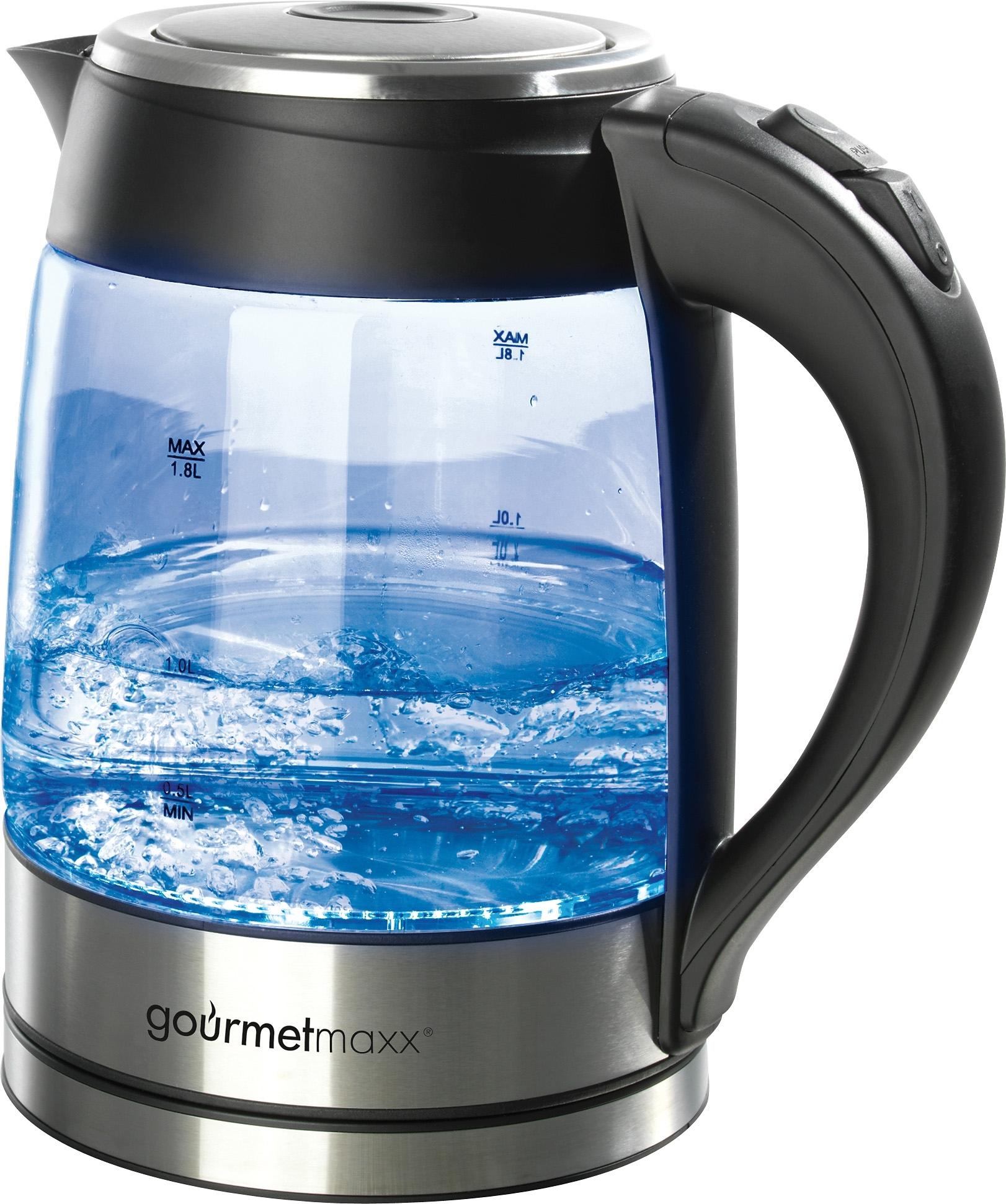 GOURMET MAXX Glazen waterkoker met LED-verlichting? Bestel nu bij | OTTO