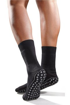 falke abs-sokken homepad met binnen geplaatste pluche (1 paar) zwart