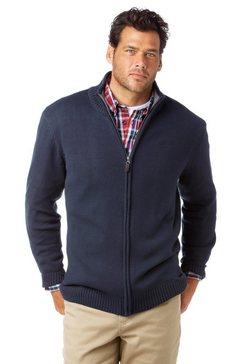 man's world vest in een katoenmix blauw
