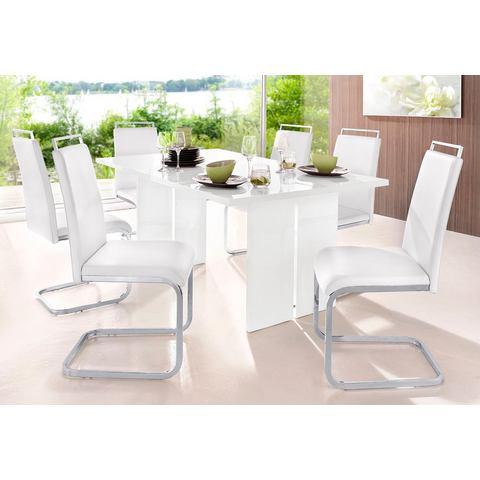 Eethoeken Eethoek bestaande uit 1 tafel en 4 stoelen 287177