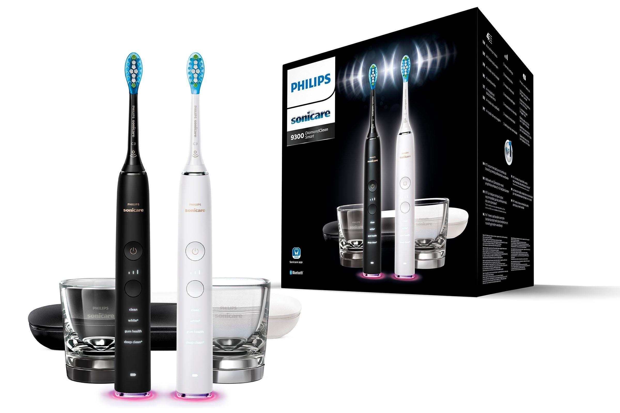 Philips Sonicare elektrische tandenborstel HX9912/18 Ultrasone tandenborstel, set van 2 goedkoop op otto.nl kopen