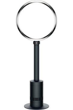 Staande ventilator AM08 in zwart/nikkel