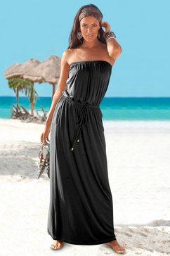 maxi-jurk, lascana zwart