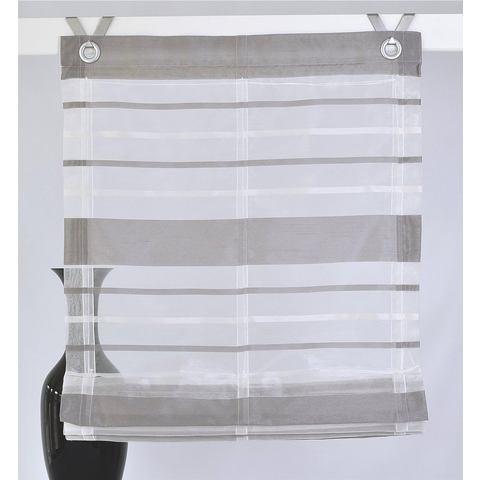 Vouwgordijn, Kutti, »fancy strepen « (per stuk) zonder boren