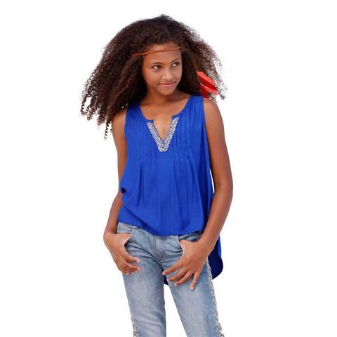 ARIZONA Blousetop met pailletten voor meisjes
