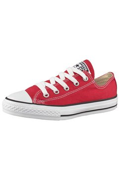 converse sneakers in plat model rood