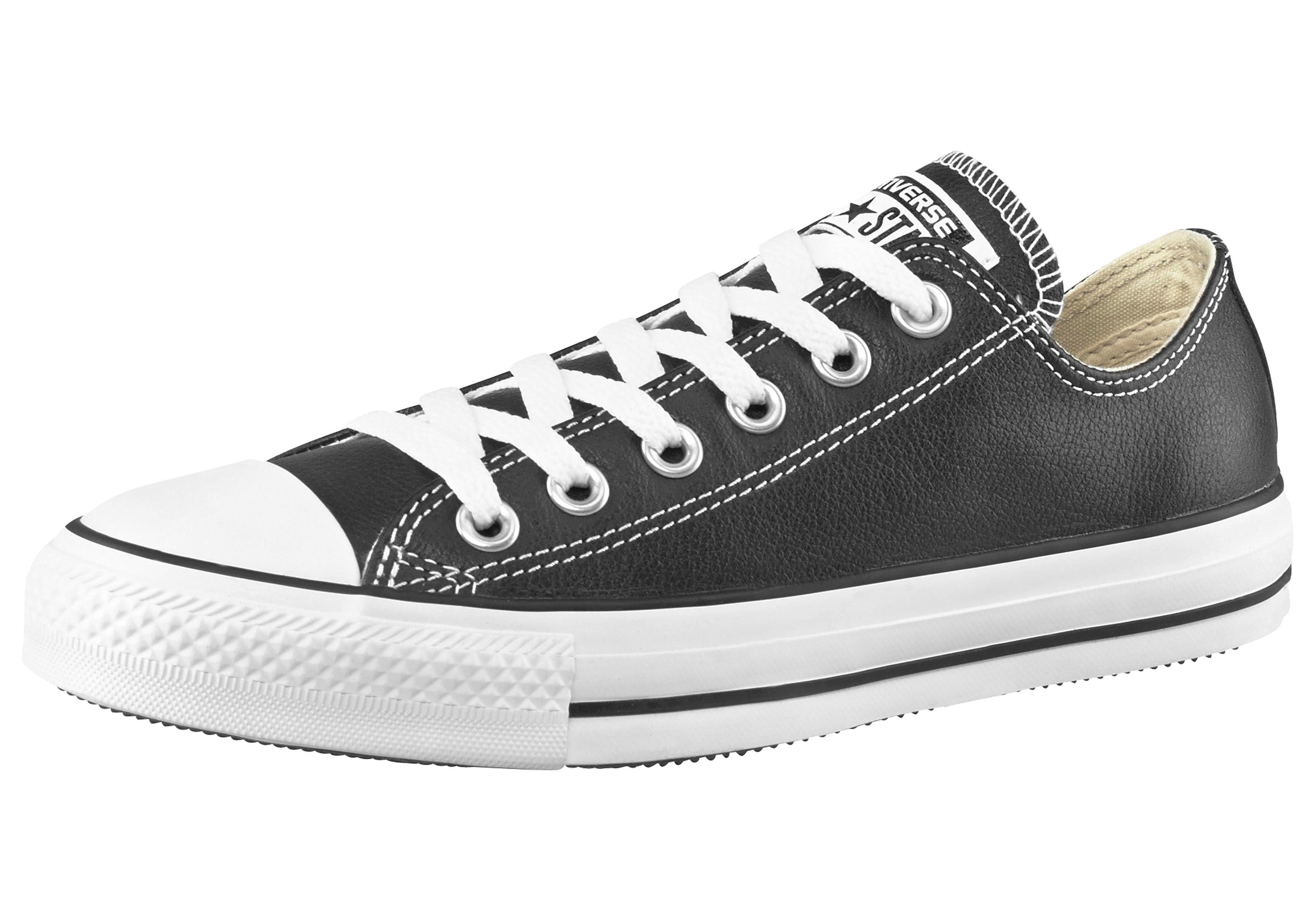 Chaussures De Sport Converse En Cuir De Bœuf De Base Étoiles GvkVqzkzM