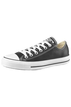 converse sneakers all star basic leather ox zwart