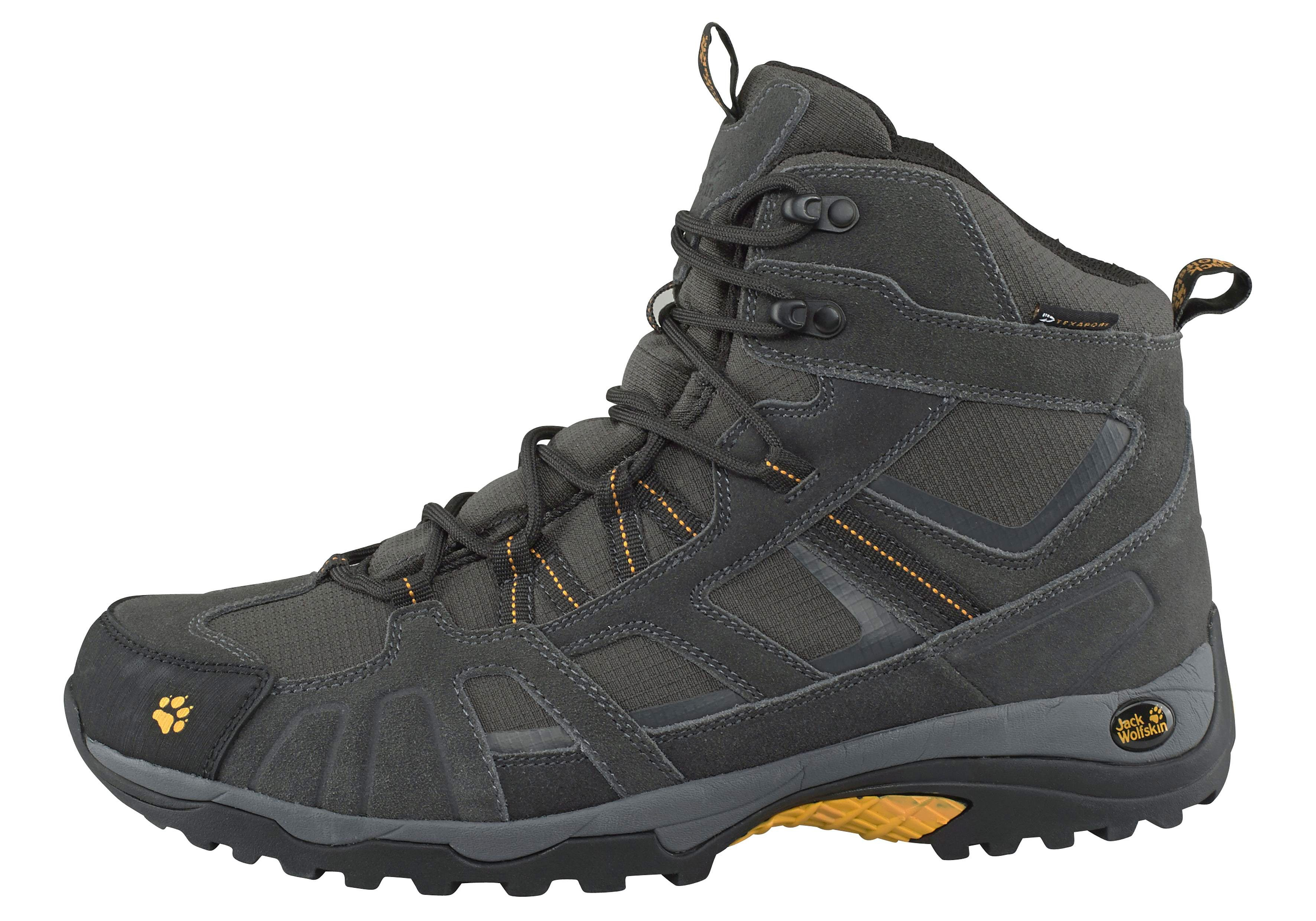 Black Jack Wolfskin Chaussures Texapore Pour Les Hommes ky7sJImC