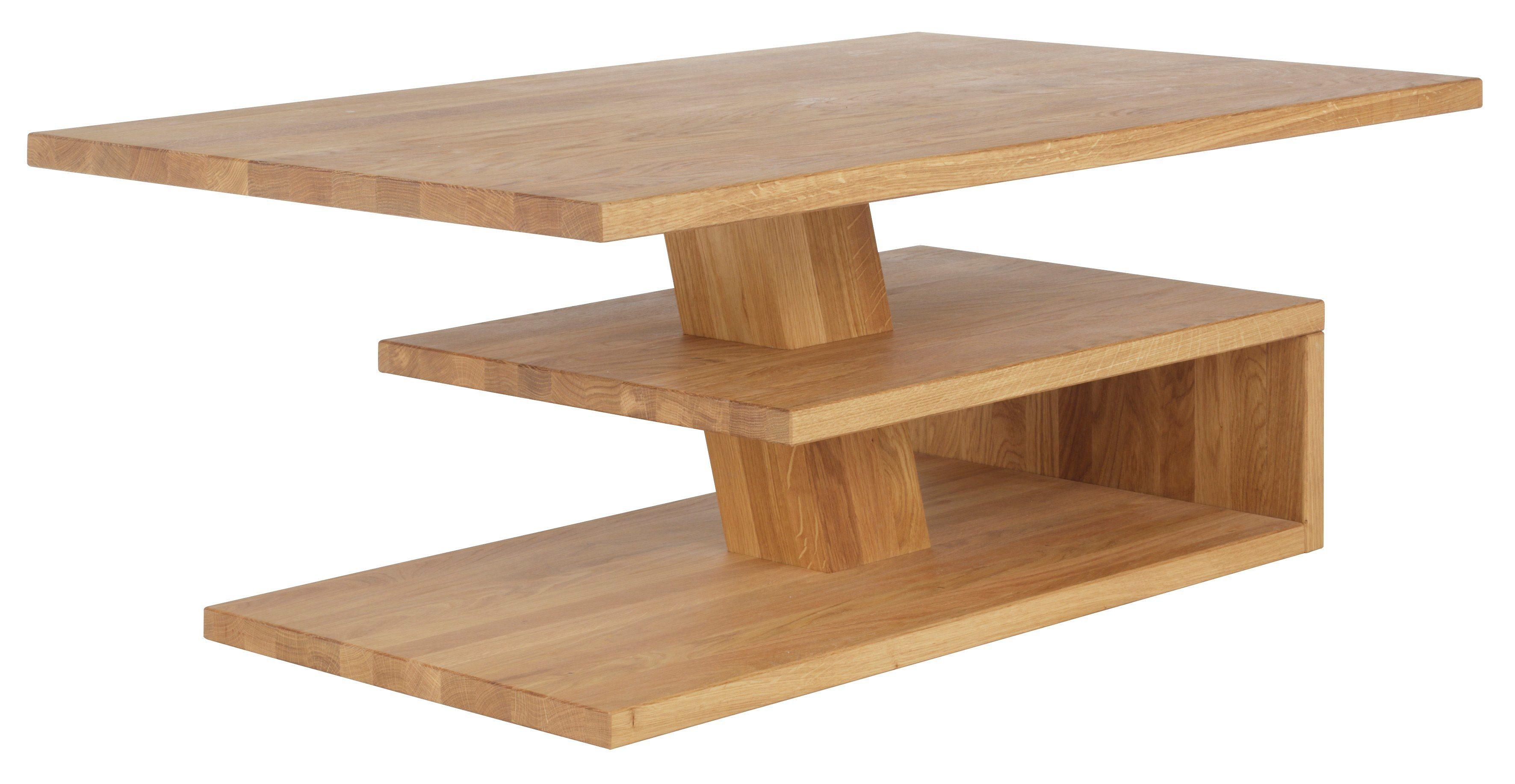 Salon Tafel Hout : Home affaire salontafel van massief hout koop je bij otto