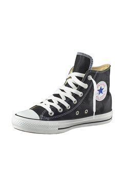 converse sneakers chuck taylor all star basic leather hi zwart
