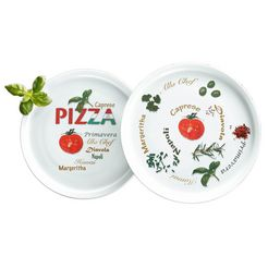 retsch arzberg pizzabord in set van 6 wit
