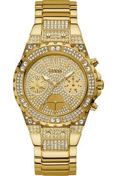 guess multifunctioneel horloge aphrodite, gw0037l2 goud