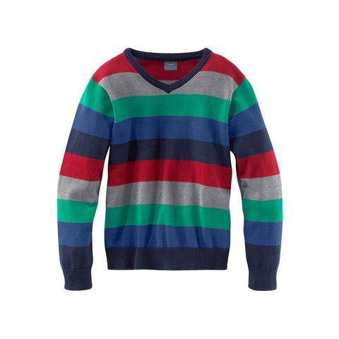 ARIZONA Kleurig gestreepte trui voor jongens
