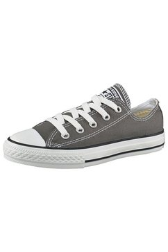 converse sneakers in plat model grijs
