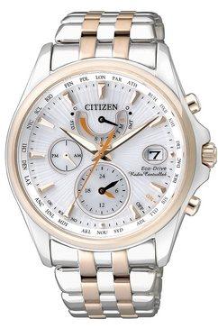 citizen, multifunctioneel radiografisch horloge, 'fc0014-54a' zilver