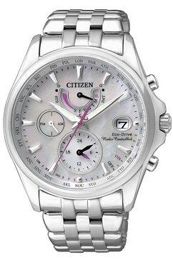 citizen, multifunctioneel radiografisch horloge, 'fc0010-55d' zilver