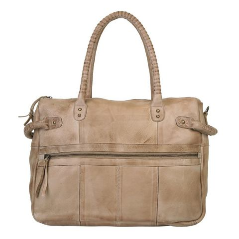 by Burin leren dames shopper