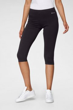 champion caprilegging »capri pants« zwart