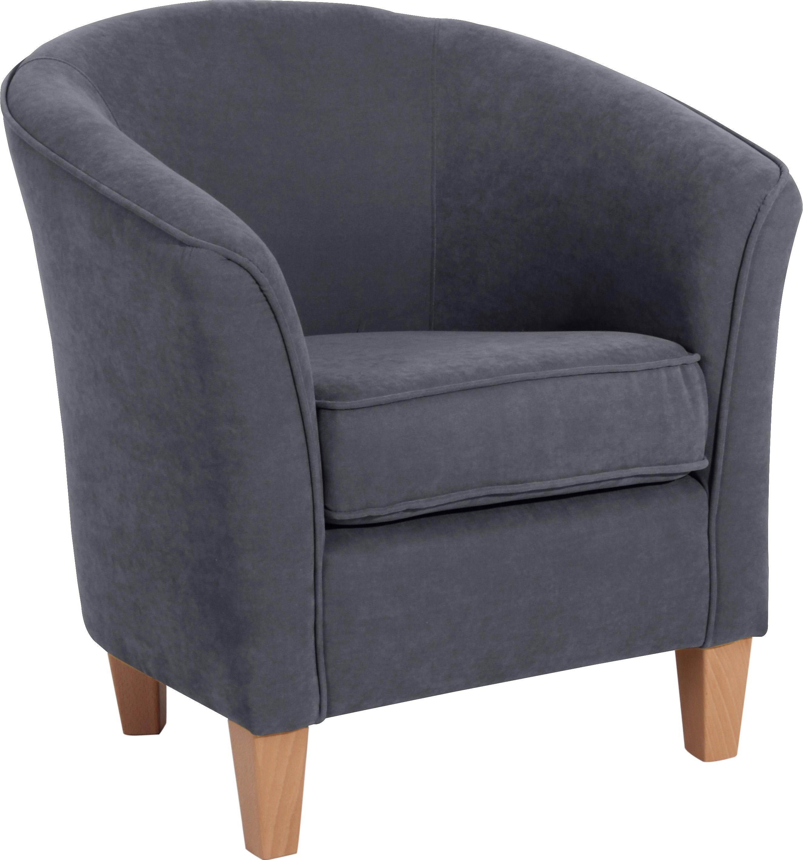 Max Winzer ® fauteuil in rond model »Luisa«, met houten poten goedkoop op otto.nl kopen