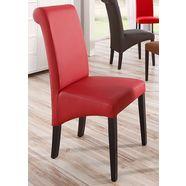 home affaire stoel rito in een set van 2, 4 of 6 (set, 2 stuks) rood
