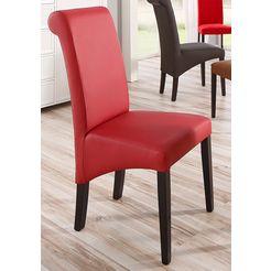 """home affaire stoel """"rito"""" rood"""