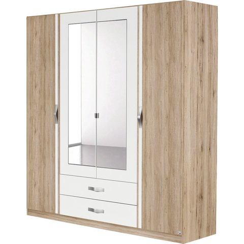 RAUCH Garderobekast met spiegel en laden