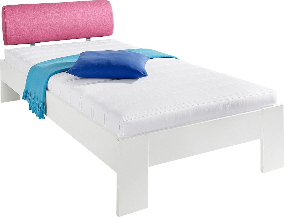 matraflex futonbed met een zacht bekleed hoofdbord makkelijk gekocht otto. Black Bedroom Furniture Sets. Home Design Ideas