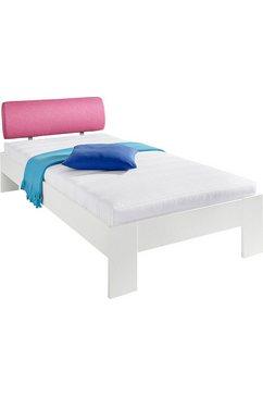 futonbed met een zacht bekleed hoofdbord
