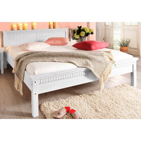 HOME AFFAIRE Bed met freeswerk wit wit Home Affaire 740394