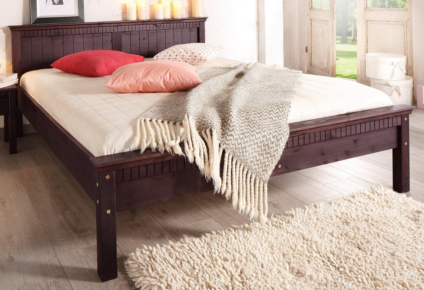 HOME AFFAIRE Bed met freeswerk
