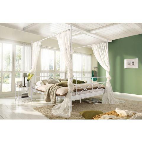 HOME AFFAIRE Metalen hemelbed van 205 cm hoog wit wit Home Affaire 891979