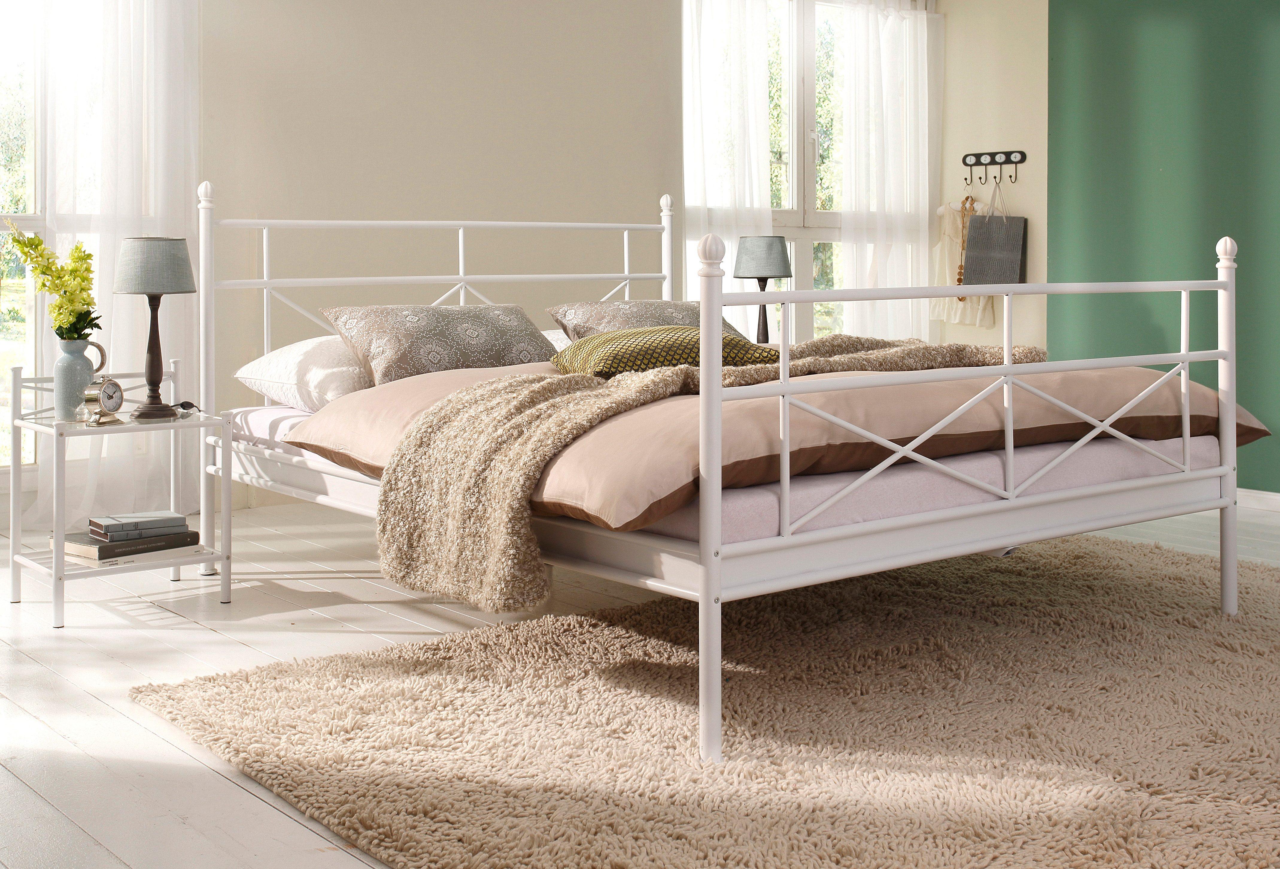 Home affaire metalen bed in breedten online bij otto