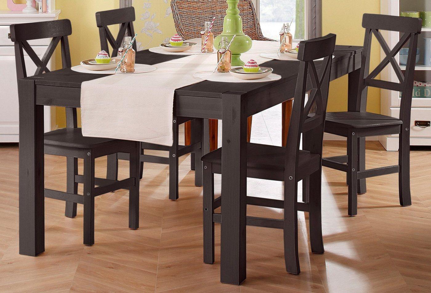 HOME AFFAIRE Eettafel met breedte 140-240 cm