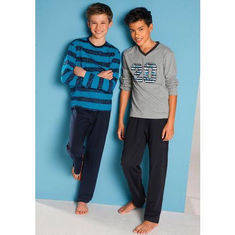 Pyjama van puur katoen in set van 2
