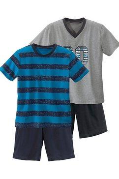 korte pyjama in set van 2 multicolor